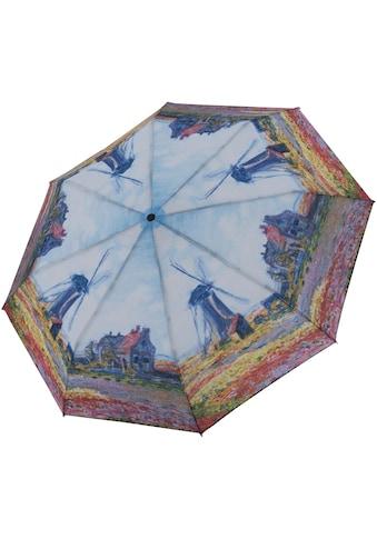 """doppler® Taschenregenschirm """"Art Collection Magic, Monet Windmühle"""" kaufen"""