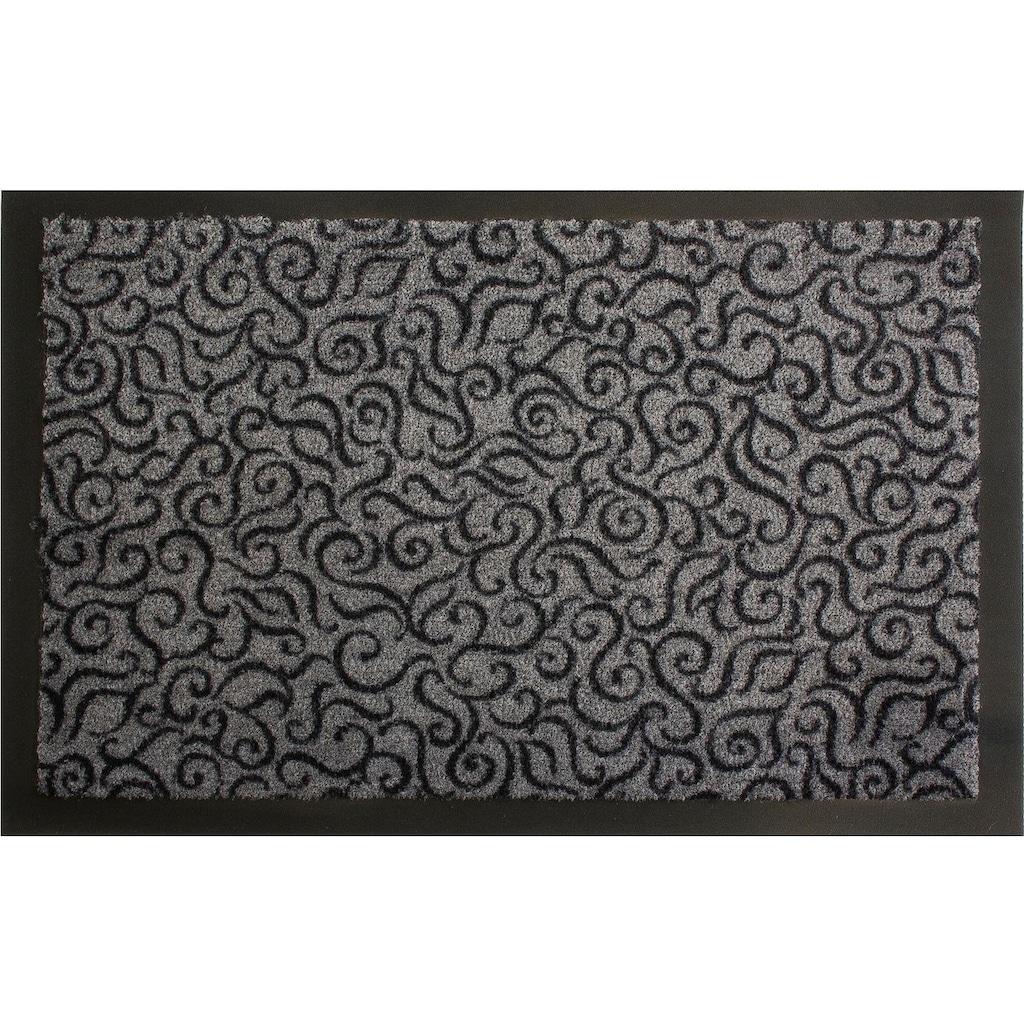 Primaflor-Ideen in Textil Fußmatte »BRASIL«, rechteckig, 6 mm Höhe, Fussabstreifer, Fussabtreter, Schmutzfangläufer, Schmutzfangmatte, Schmutzfangteppich, Schmutzmatte, Türmatte, Türvorleger, In- und Outdoor geeignet, waschbar