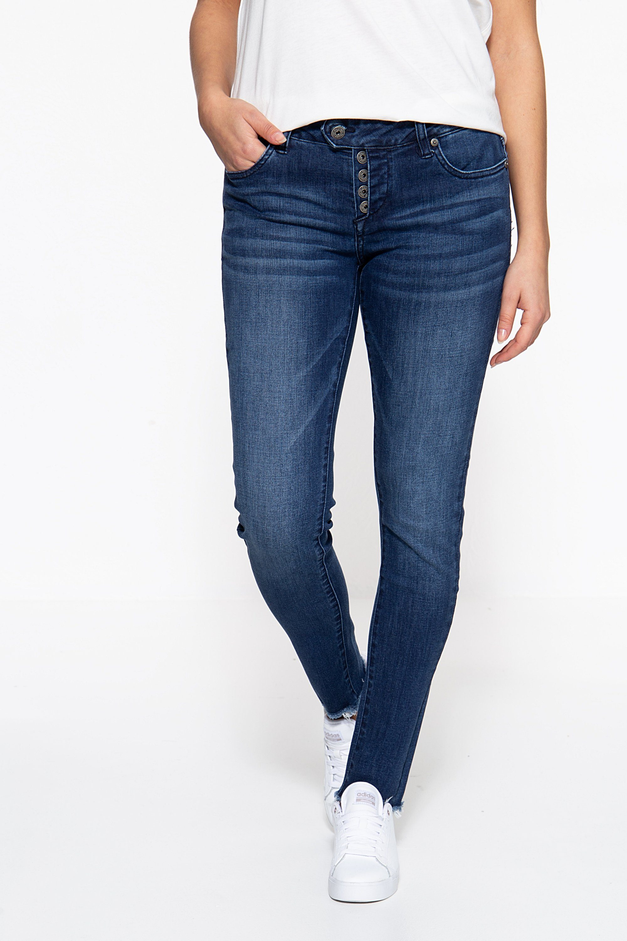 blue monkey -  Skinny-fit-Jeans Ruby 7239