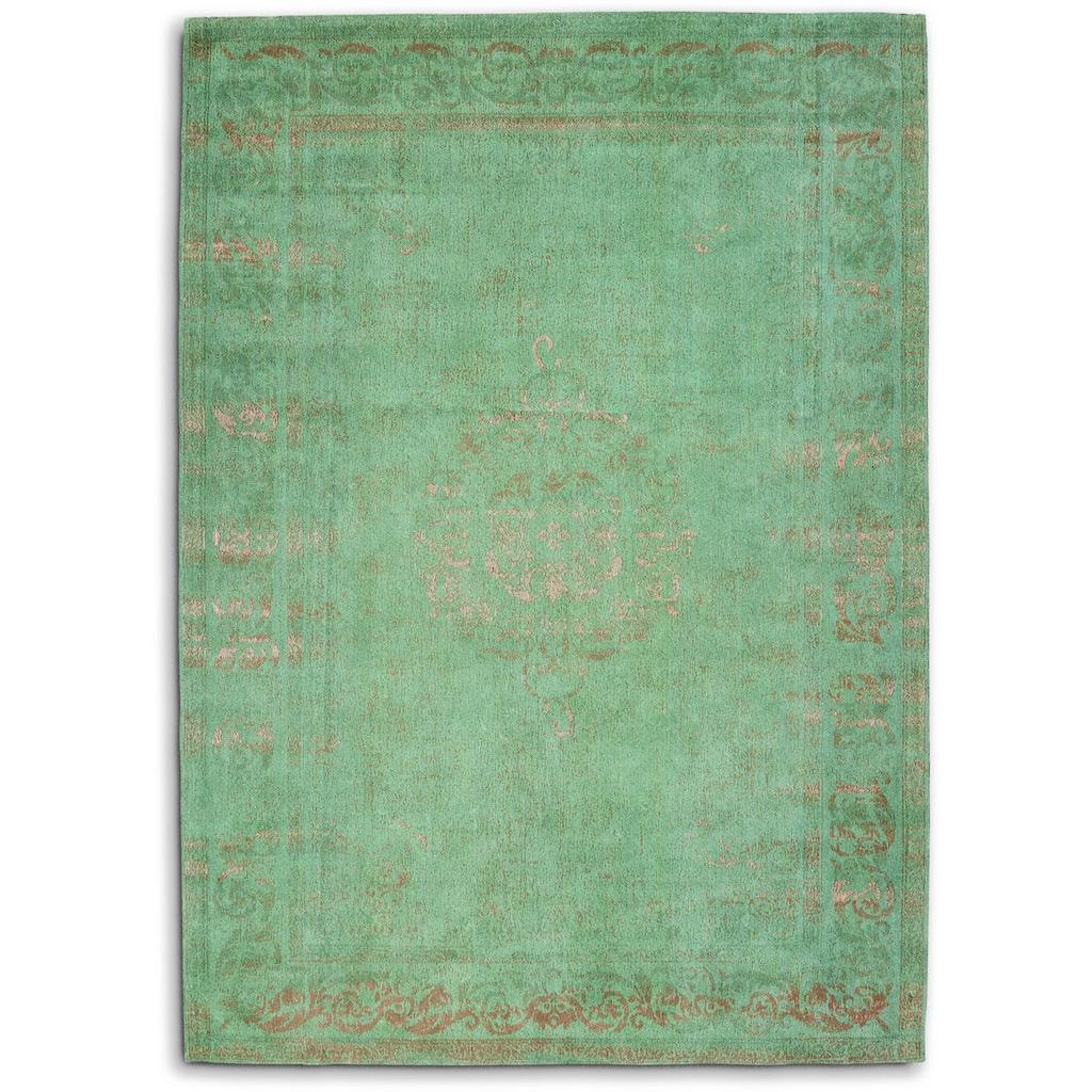 GALLERY M Teppich »Medaillon«, rechteckig, 5 mm Höhe, Flachgewebe, Wohnzimmer