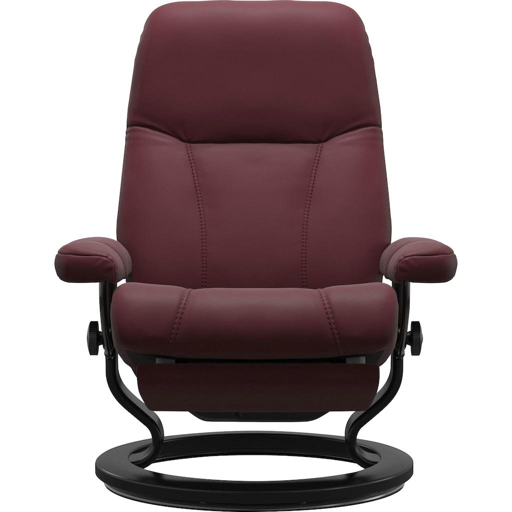 Stressless® Relaxsessel »Consul«, mit Classic Base und Power™, elektrisch verstellbar, optional 2-motorisch, Größe M & L, Gestell Schwarz