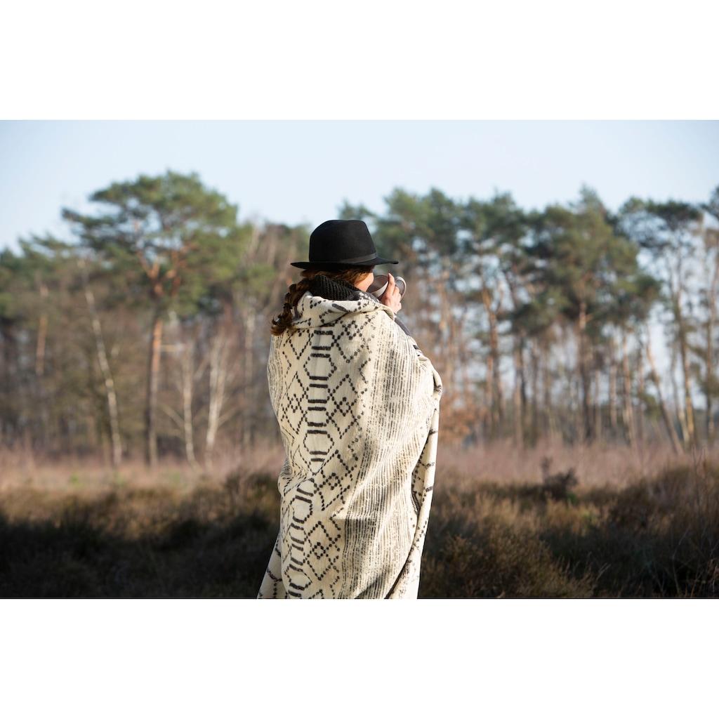 IBENA Wohndecke »Jacquard Decke Madiun«, mit Ethnomuster