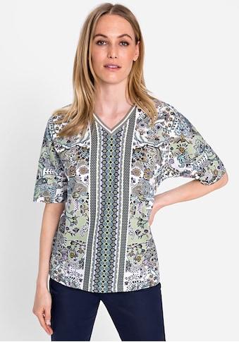 Olsen V-Shirt, mit Mustermix kaufen