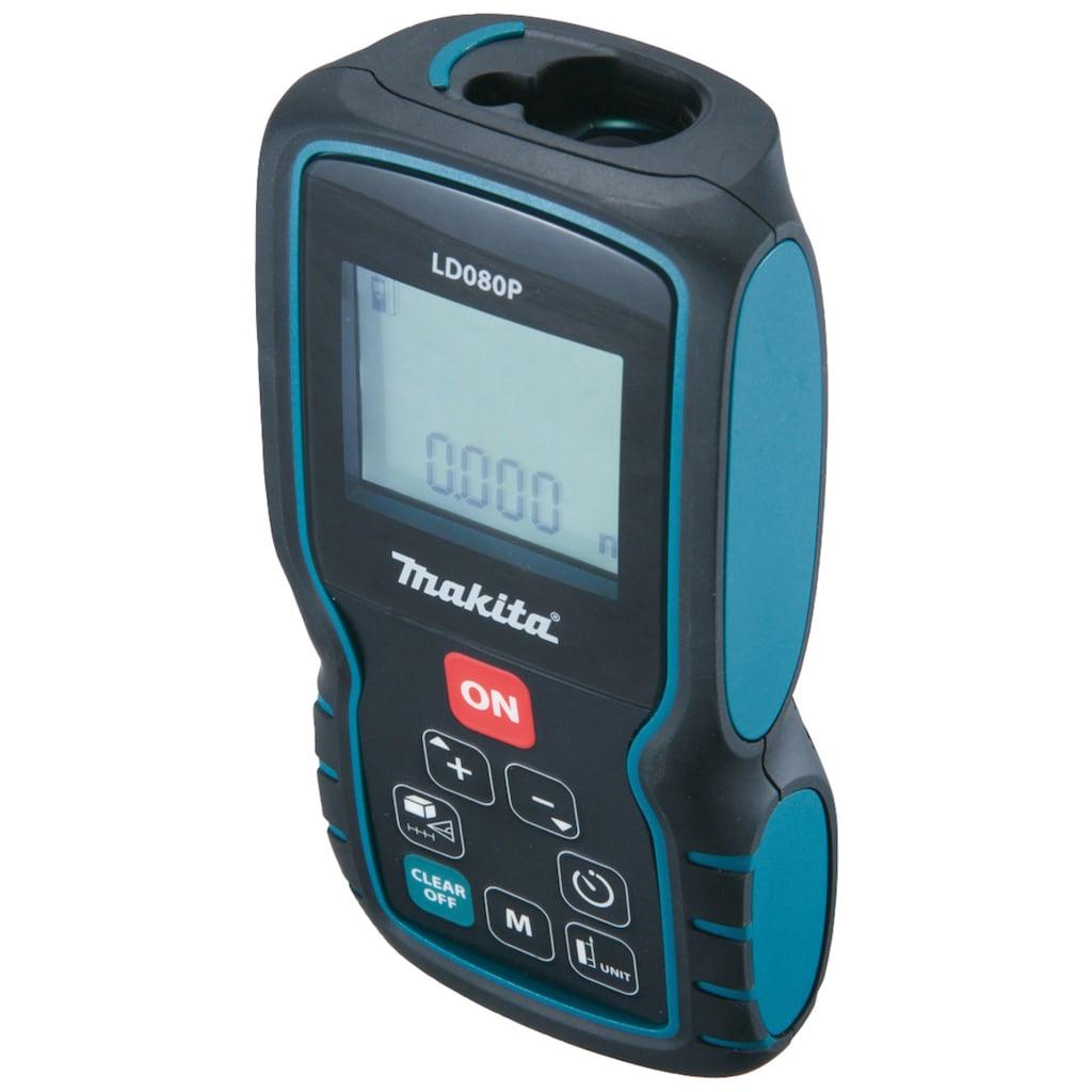 Makita Entfernungsmesser »LD080P«, Messbereich: 80m