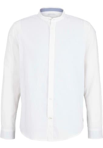 TOM TAILOR Leinenhemd, mit Mao Kragen kaufen