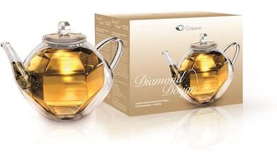 Creano Teekanne, 0,8 l, (1), in Diamantenoptik kaufen