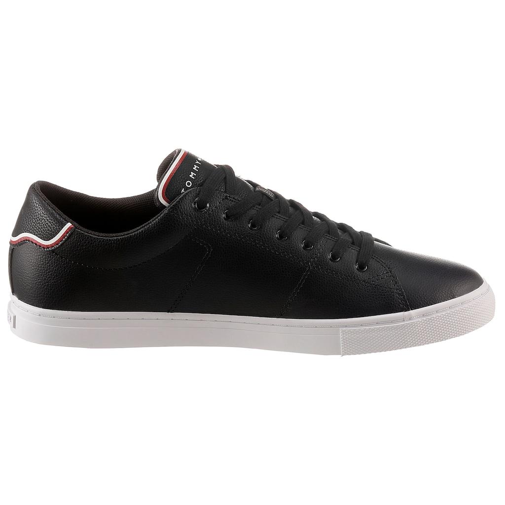 Tommy Hilfiger Sneaker »ESSENTIAL LEATHER SNEAKER«, mit Kontrastbesatz