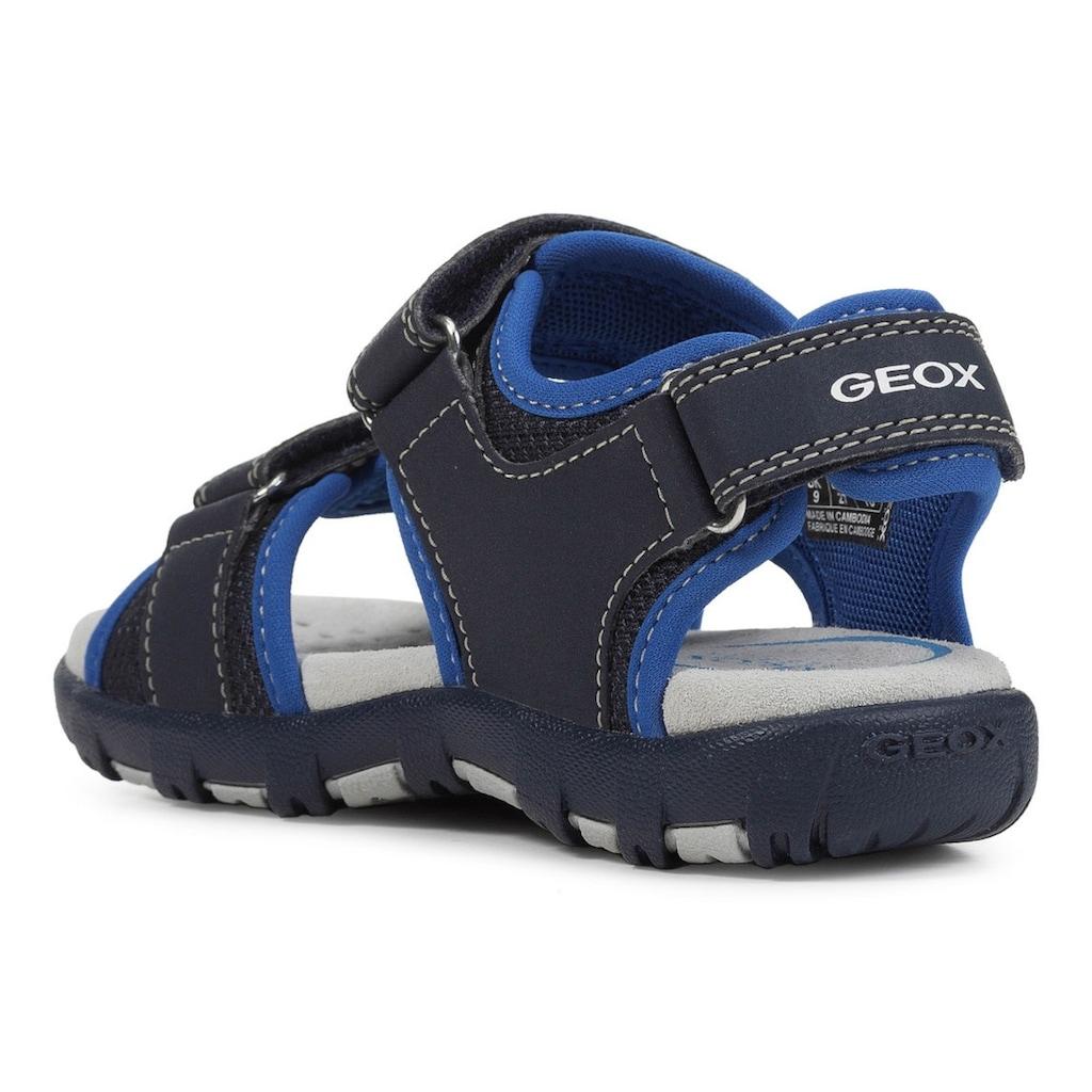 Geox Kids Sandale »Pianeta«, mit Logoschriftzügen