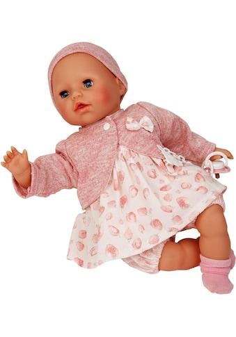 Schildkröt Manufaktur Babypuppe »Amy, rose/weiß«, Made in Germany kaufen