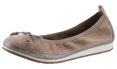 Fitters Footwear Ballerina »CELINE«, mit elastischem Schaftrand kaufen