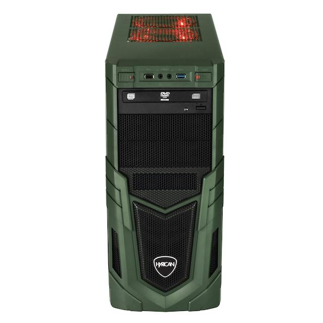 Hyrican Gaming PC i7-9700F, 16GB, 480GB SSD, 1TB HDD, RTX 2060 SUPER »Military 6424«