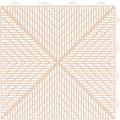 Bergo Flooring Klickfliesen-Eckleiste, für Kunststofffliesen in Sand