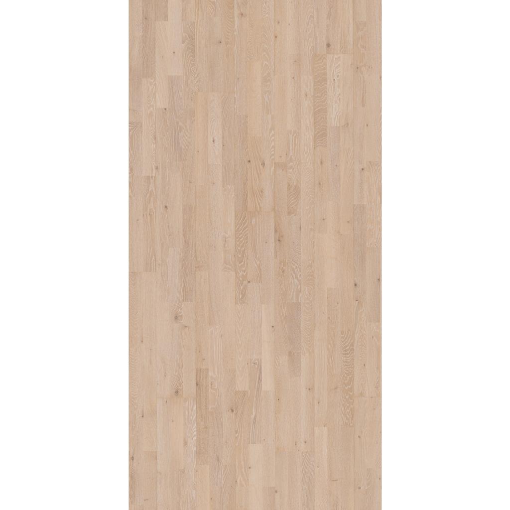 PARADOR Parkett »Eco Balance Living - Eiche gebürstet«, ohne Fuge, 2200 x 185 mm, Stärke: 13 mm, 3,66 m²