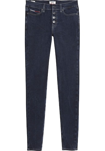 TOMMY JEANS Skinny - fit - Jeans »NORA MR SKNY BTN FLY LMDBST« kaufen