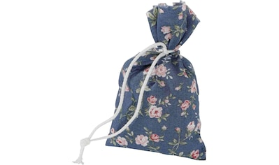 Duftkissen, »4er Set Duftbeutel Rosenblüten Rosendruck blau«, herbalind, (4 - tlg.) kaufen