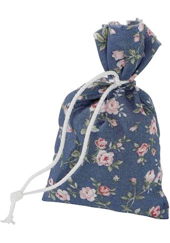 herbalind Duftkissen »4er Set Duftbeutel Rosenblüten Rosendruck blau«, (4 St.), Herbalind kaufen