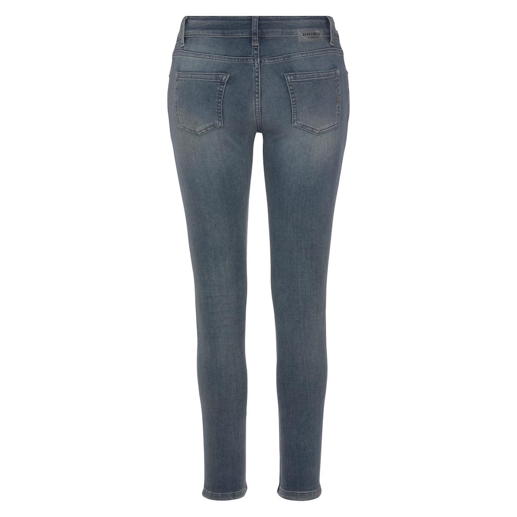 BLUE FIRE Skinny-fit-Jeans »CHLOE-BF«, mit authentischer Waschung mit Usedeffekten
