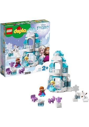 "LEGO® Konstruktionsspielsteine ""Elsas Eispalast (10899), LEGO® DUPLO® Disney Princess"", Kunststoff, (59 - tlg.) kaufen"
