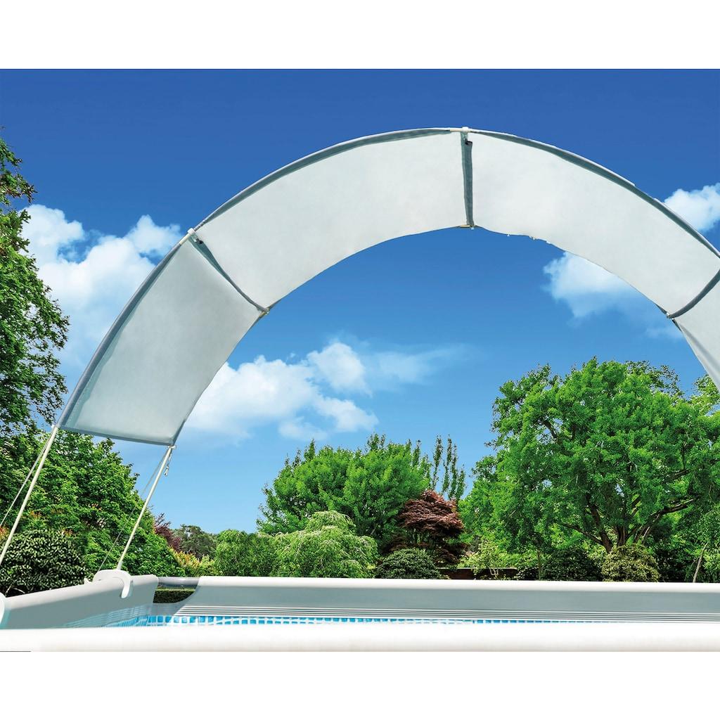 Intex Poolverdeck »Sonnendach«, für Stahlrohrbecken
