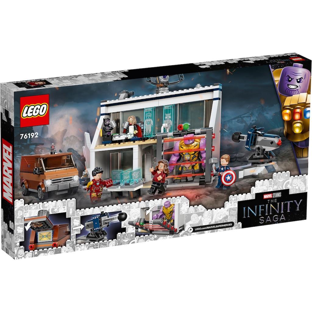 LEGO® Konstruktionsspielsteine »Avengers: Endgame – Letztes Duell (76192), Marvel Avengers Movie 4«, (527 St.), Made in Europe