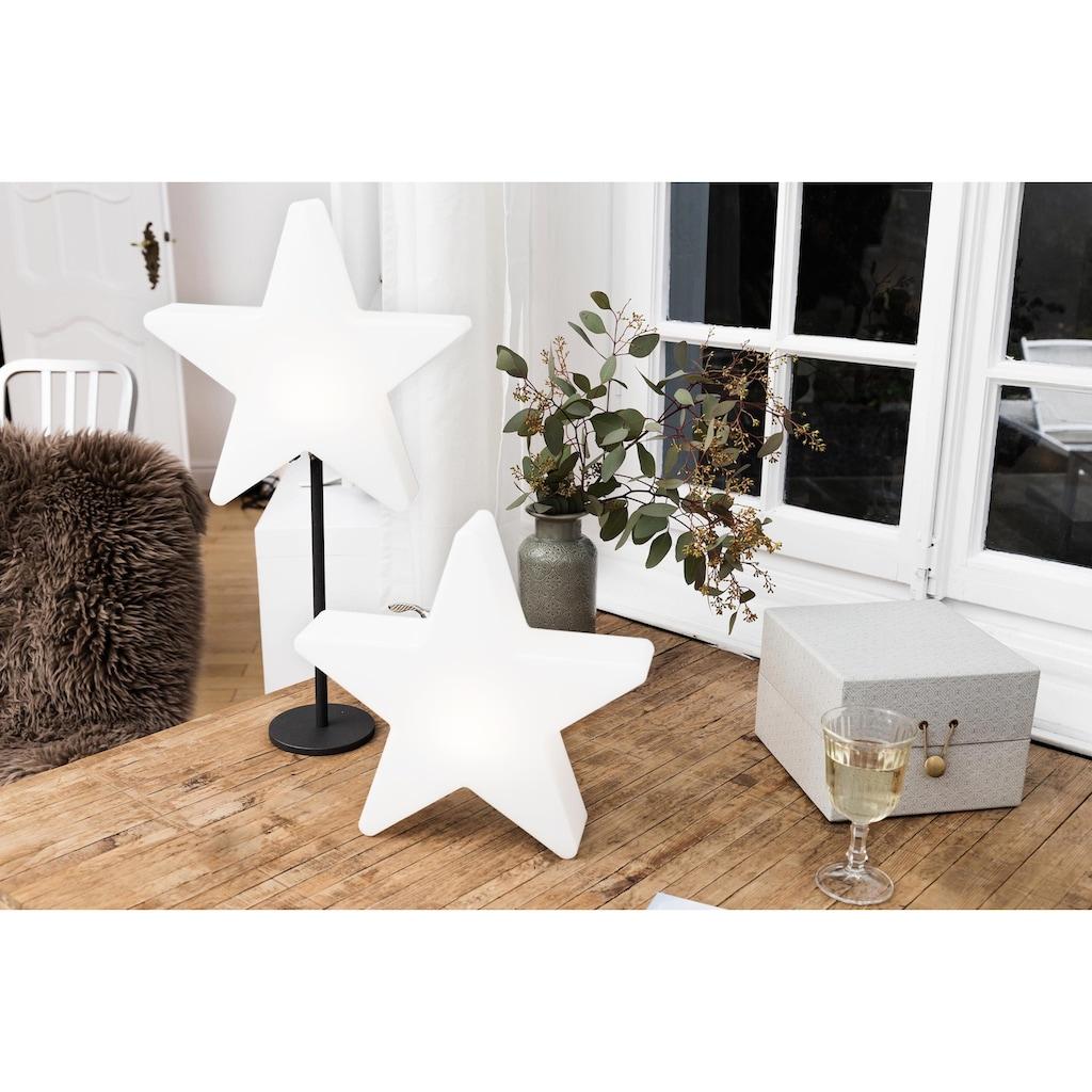 8 seasons design Dekolicht »Shining Window Star«, Kaltweiß, Höhe 31 cm