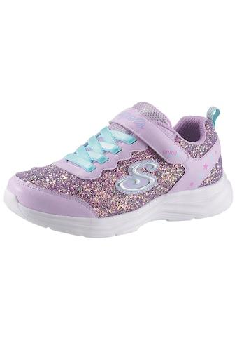 Skechers Kids Sneaker »Blinkschuh Glimmer Kicks«, mit cooler Blinkfunktion kaufen