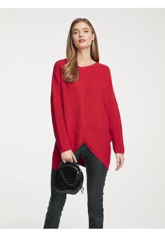 Pullover mit modischem Schnitt kaufen