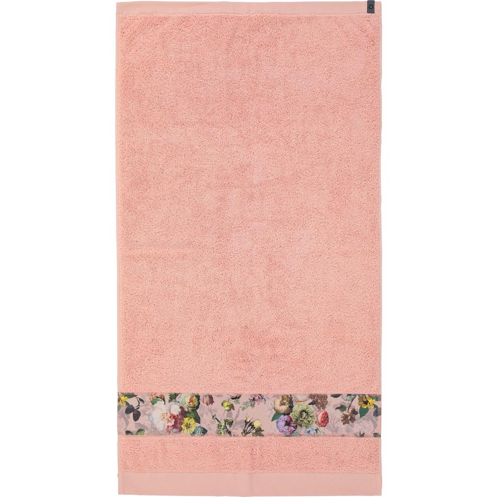 Essenza Handtücher »Fleur«, (2 St.), Bordüre im wunderschönen Blumenprint