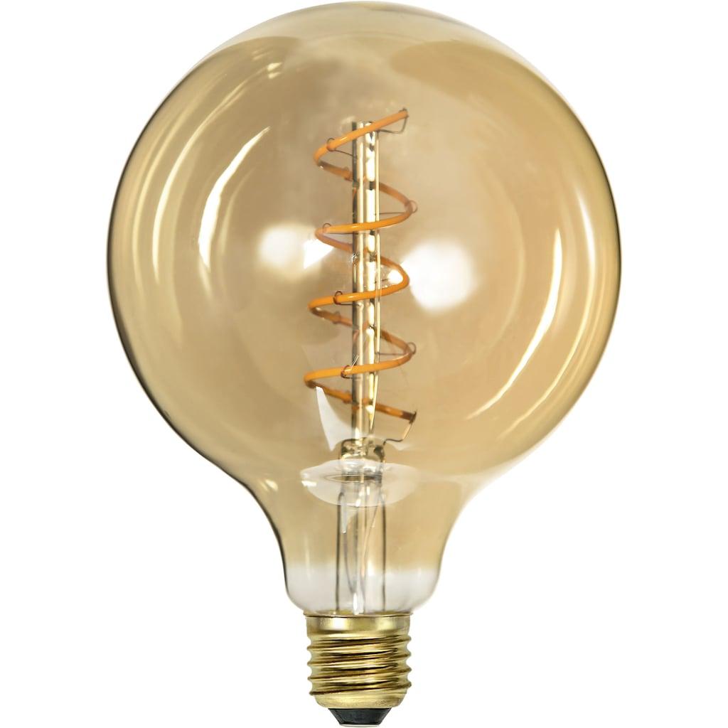Home affaire LED-Filament »Decoled Spiral Amber«, E27, 2 St., IP 44, Maße: 12,5x17,5 cm