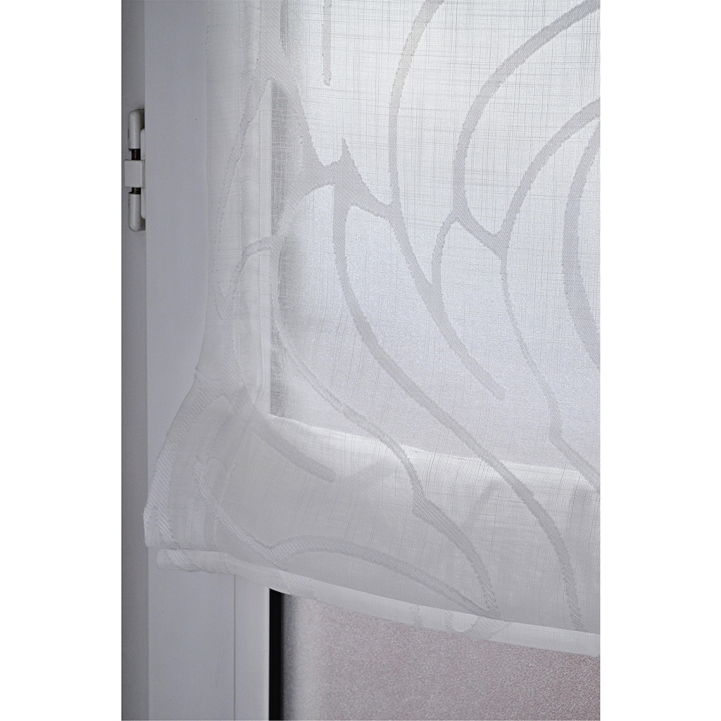 Kutti Raffrollo »Skyline«, mit Hakenaufhängung, ohne Bohren, freihängend