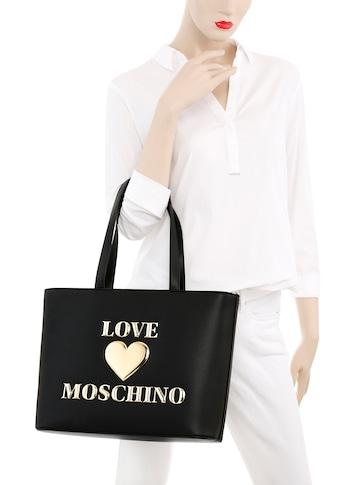 LOVE MOSCHINO Shopper, mit goldfarbenen Details kaufen