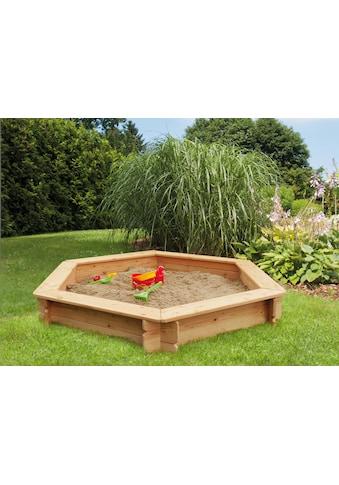 Kiehn - Holz Sandkasten BxTxH: 175x175x30 cm kaufen