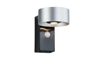 Paulmann,LED Außen - Wandleuchte»Cone Silber/Anthrazit mit Bewegungsmelder 2x6W«, kaufen