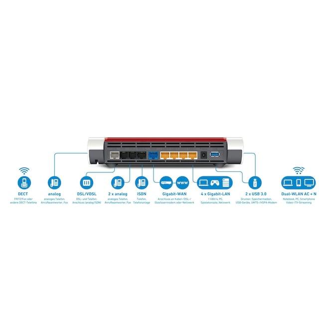 AVM Router »FRITZ!Box 7590 - unterstützt WLAN-Mesh«