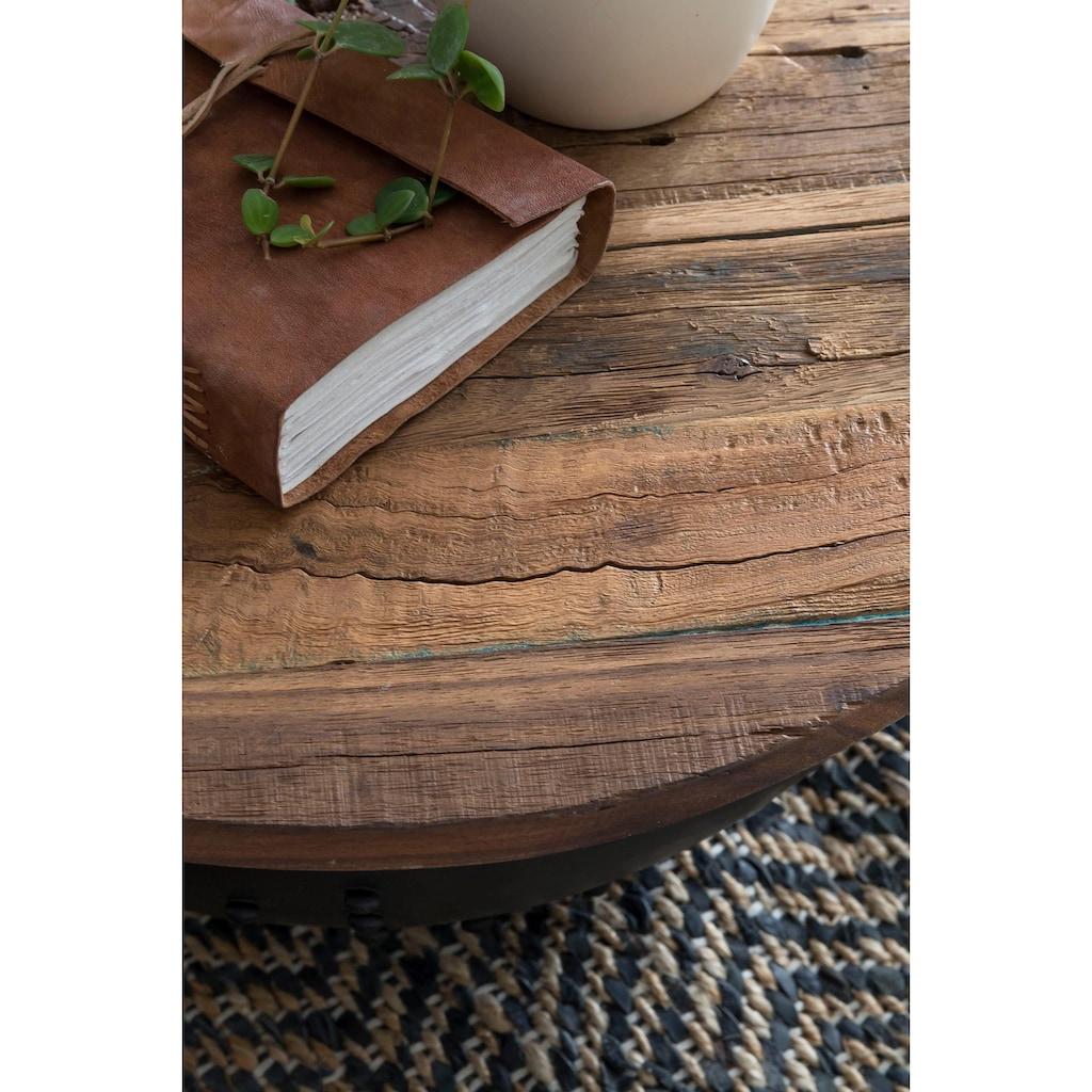 Home affaire Couchtisch »Loft«, Tischplatte aus recyceltem Altholz, Shabby Chic, Vintage