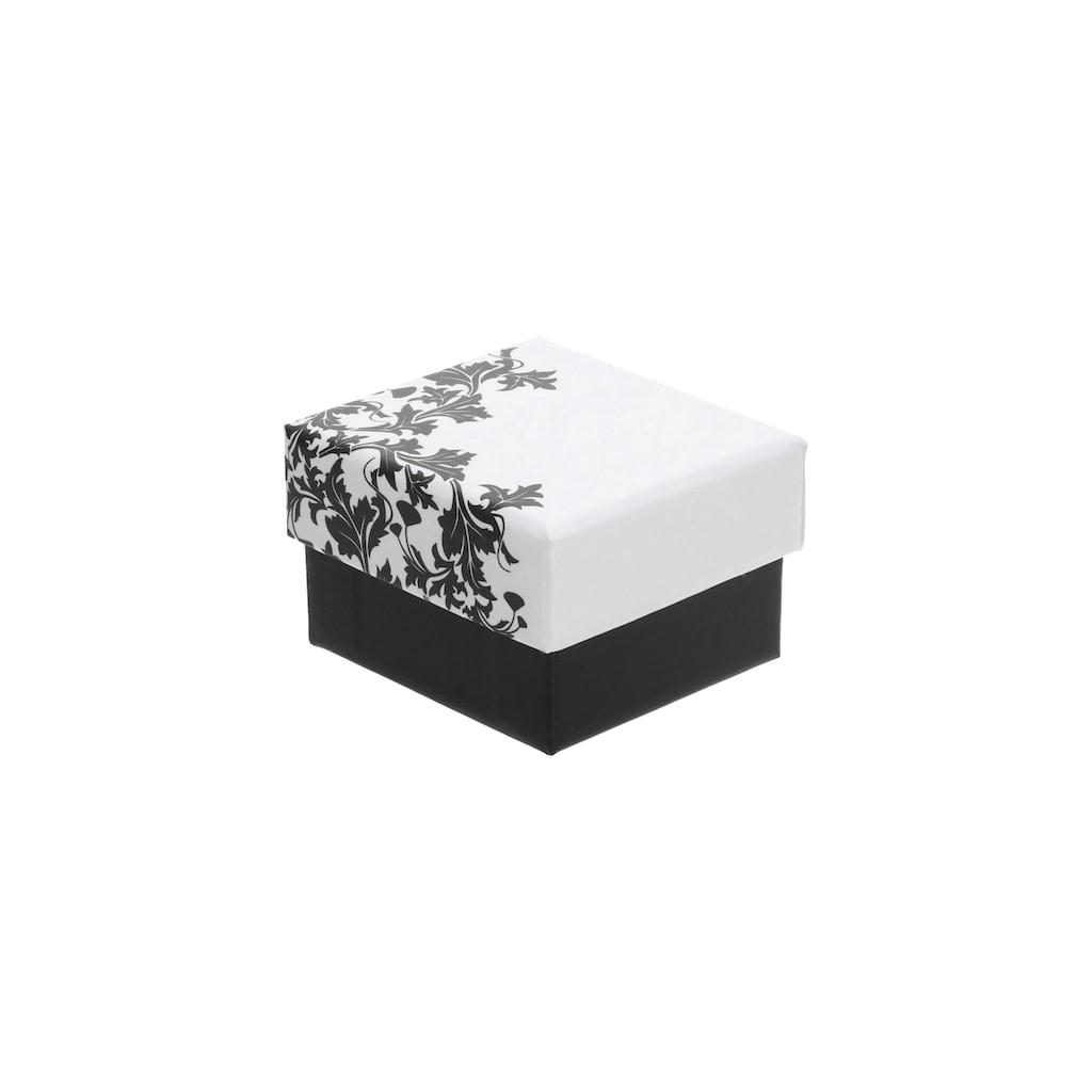 Smart Jewel Paar Ohrhaken »Zum Durchziehen Tropfenform, Zirkonia Steine, Silber 925«