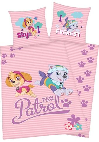 PAW PATROL Kinderbettwäsche »Skye und Everest«, mit tollem Paw Patrol Motiv kaufen