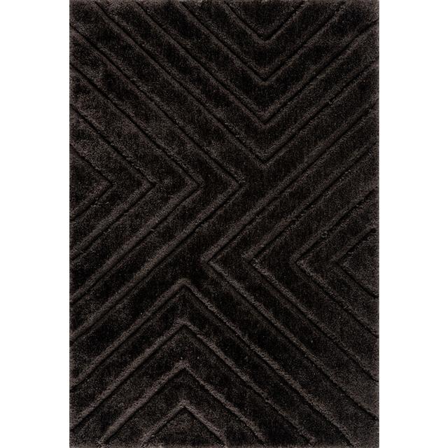 Hochflor-Teppich, »Fiori«, andas, rechteckig, Höhe 43 mm, maschinell gewebt