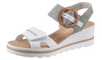 Rieker Sandalette, mit auffälliger Schmuckspange kaufen