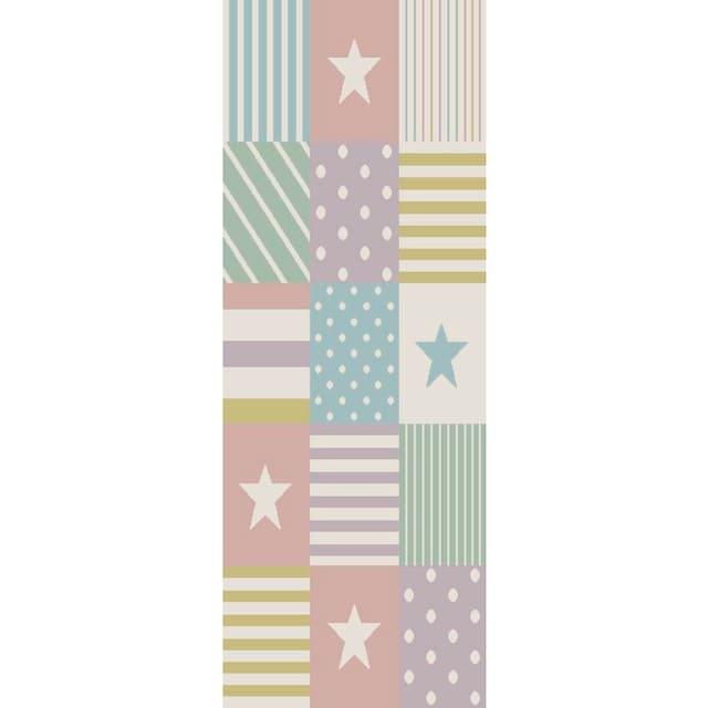 Kinderteppich, »Stern«, Lüttenhütt, rechteckig, Höhe 13 mm, maschinell gewebt
