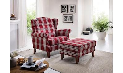 Max Winzer® XXL-Sessel »Valentina«, mit geschwungenen Armlehnen, Breite 114 cm, Big, Hochlehner kaufen