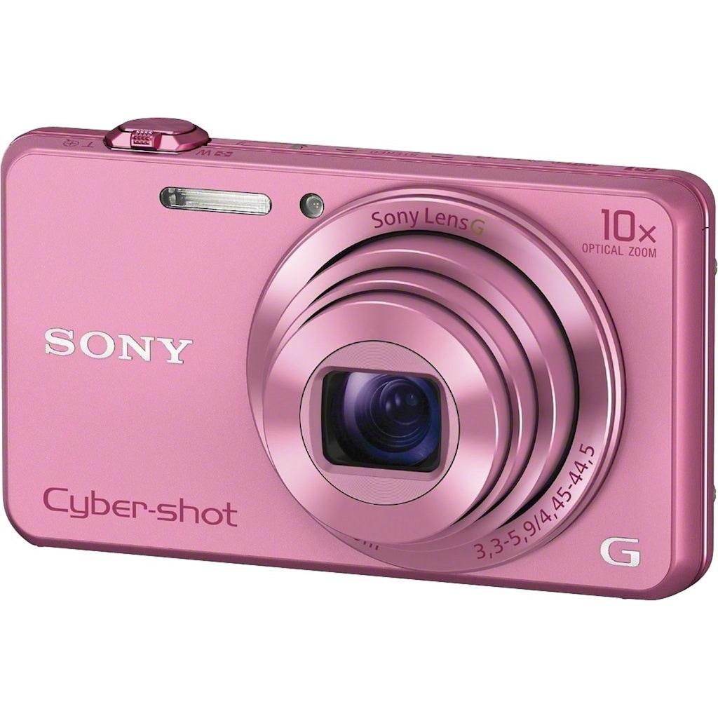Sony »Cyber-Shot DSC-WX220« Superzoom-Kamera (25mm Sony G, 18,2 MP, 10x opt. Zoom, WLAN (Wi-Fi))