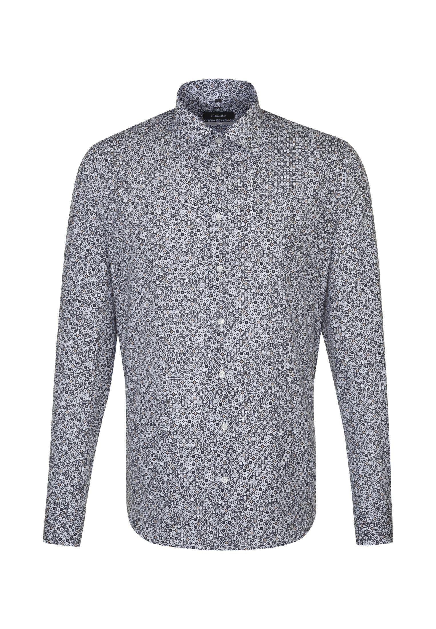 seidensticker Businesshemd X-Slim | Bekleidung > Hemden > Business Hemden | Blau | Baumwolle - Popeline | Seidensticker