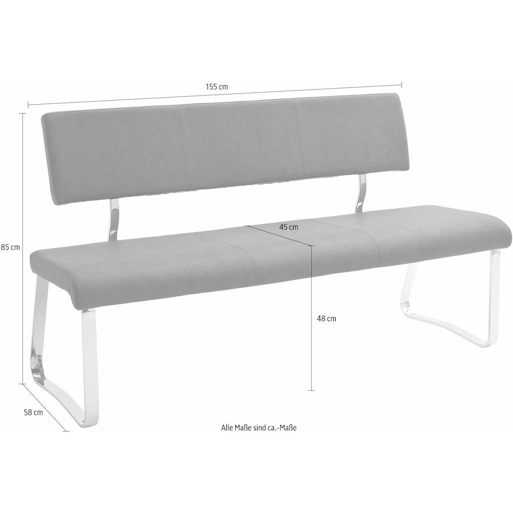 MCA furniture Polsterbank »Tia«, (1 St.), Polsterbank, Belastbar bis max. 240 kg