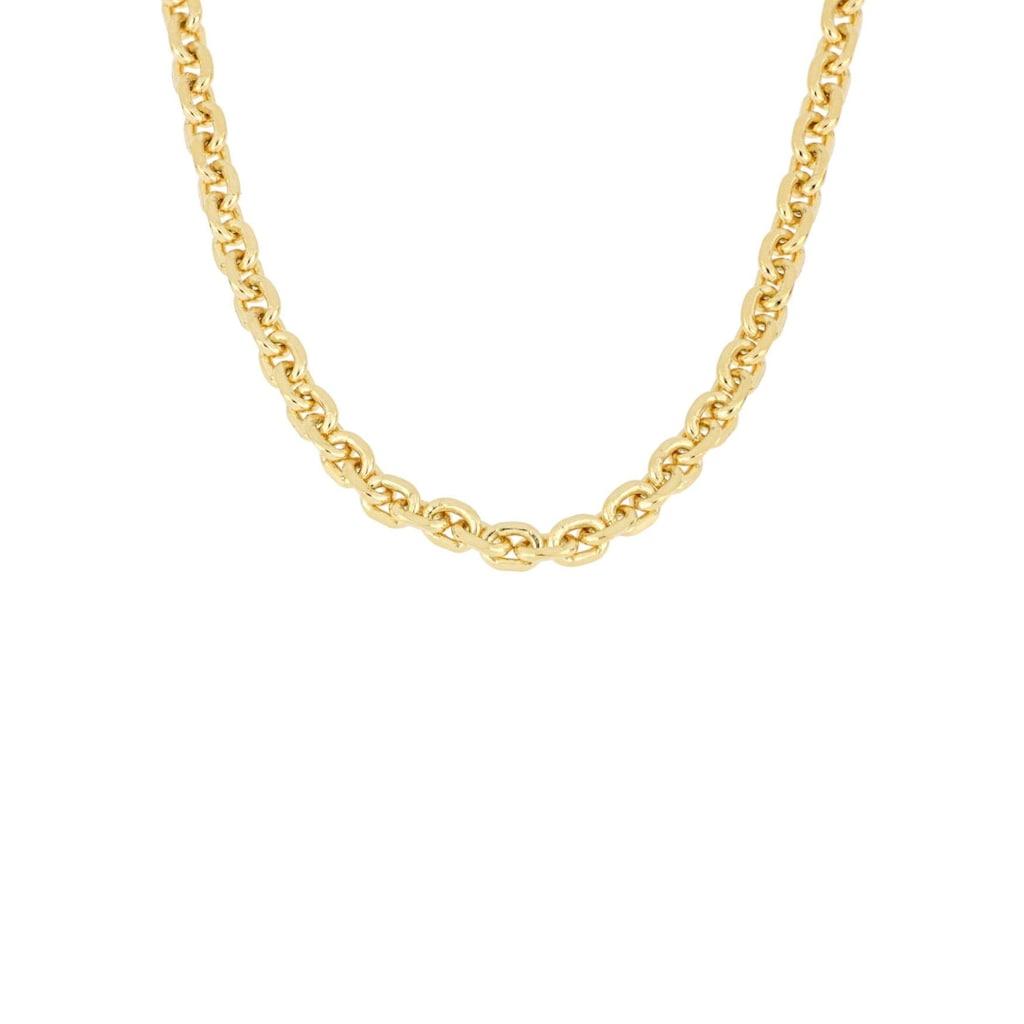Firetti Gliederkette »Ankerkettengliederung, 2,5 mm breit, glanz, 4-fach diamantiert, vergoldet«