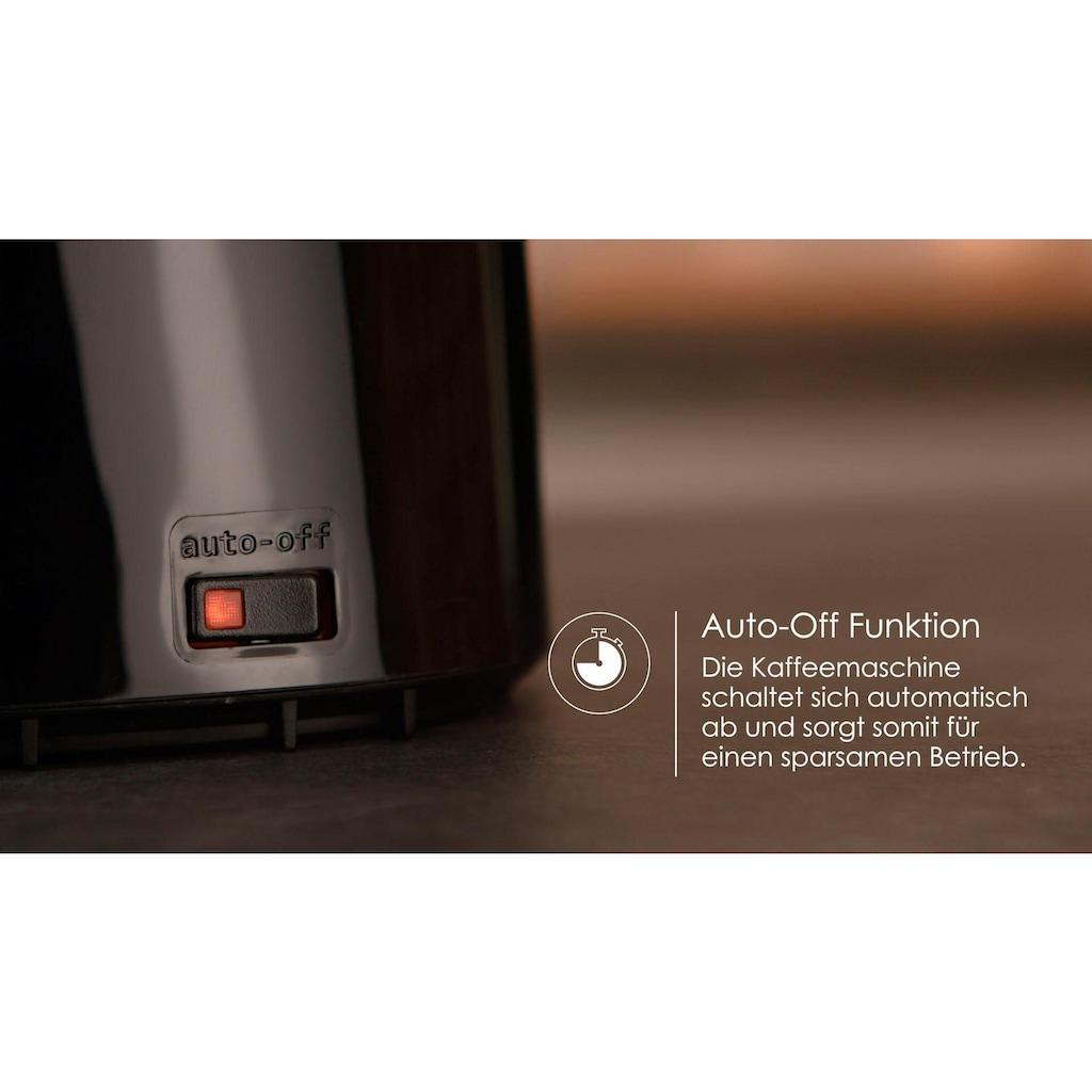 Melitta Filterkaffeemaschine Enjoy Therm 1017-06 schwarz, Papierfilter 1x4