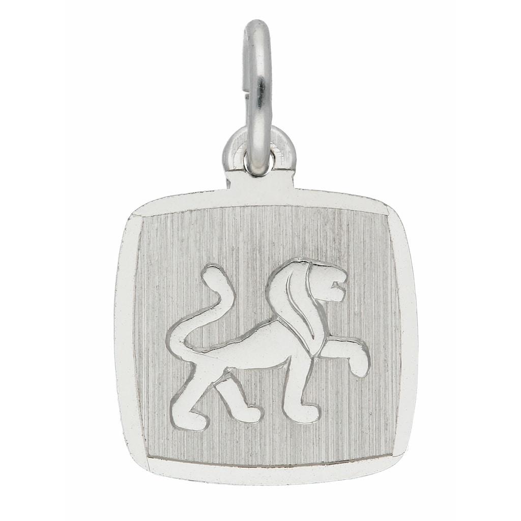 Adelia´s Kettenanhänger »925 Silber Sternzeichen Anhänger Löwe«