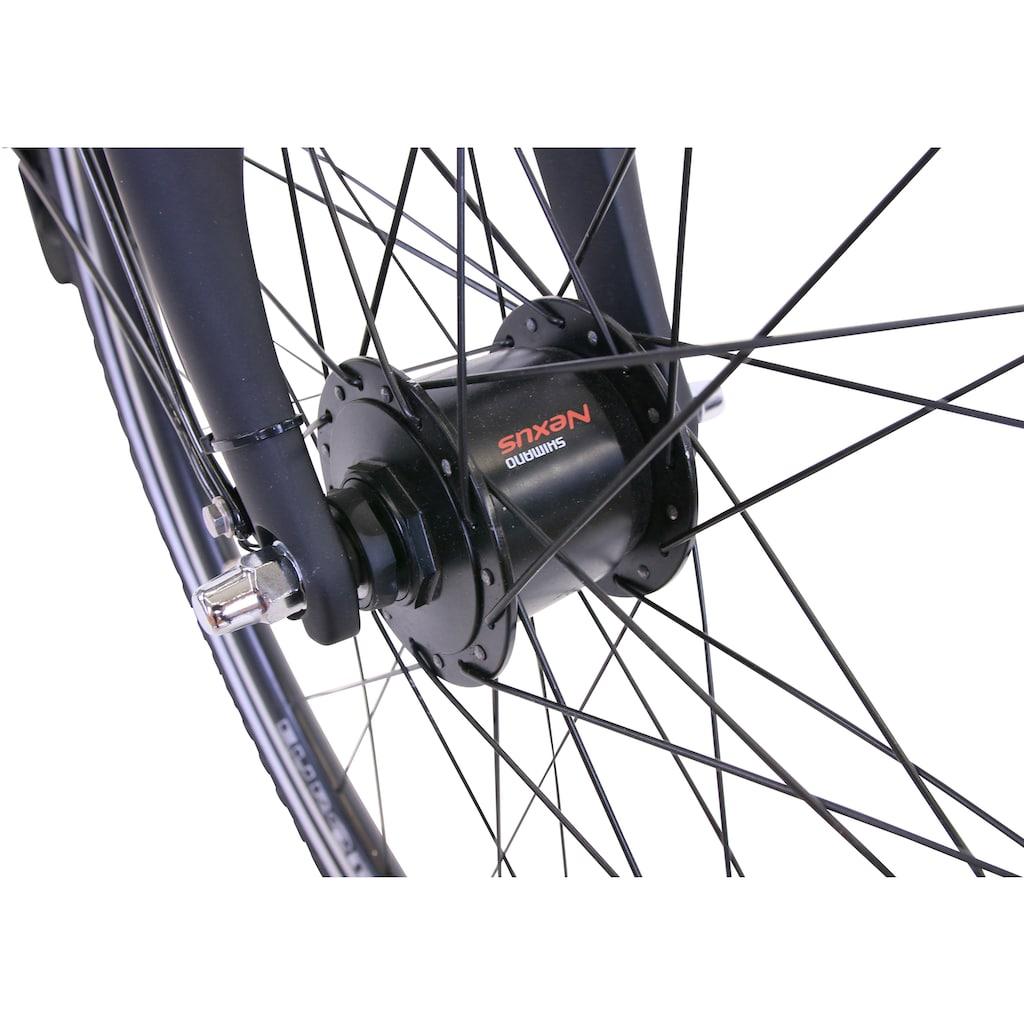 HAWK Bikes Trekkingrad »HAWK Trekking Lady Premium Black«, 24 Gang, Shimano, Altus Schaltwerk