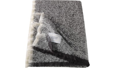 SCHÖNER WOHNEN-Kollektion Wohndecke »Fluffy«, mit kleinen Schmuckfransen kaufen