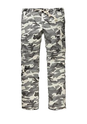 Men Plus by Happy Size Cargohose Camouflage kaufen